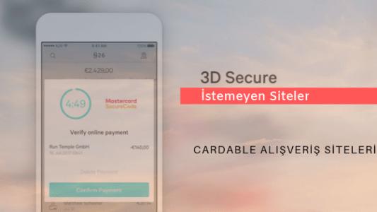 Photo of 3D Secure Olmayan Alışveriş Siteleri 2020