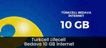 Photo of Turkcell Lifecell 10 GB Bedava İnternet Kampanyası
