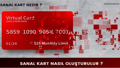 Photo of Sanal Kart Nedir – Sanal Kart Nasıl Oluşturulur ?