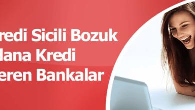 Photo of Sicili Bozuk Olana Kredi Veren Bankalar