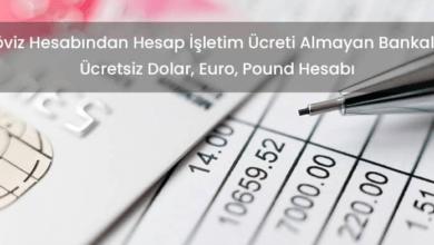 Photo of Döviz Hesabından Hesap İşletim Ücreti Almayan Bankalar
