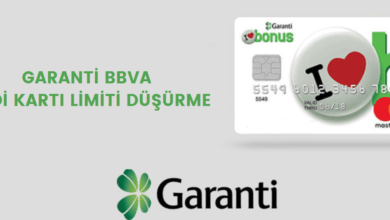 Photo of Garanti BBVA Kredi Kartı Limiti Düşürme