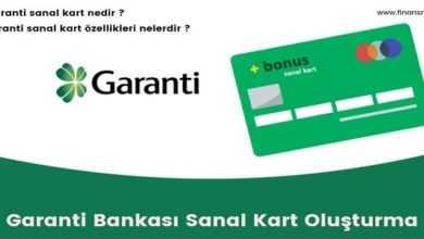Photo of Garanti BBVA Sanal Kart Nasıl Oluşturulur ?