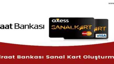 Photo of Ziraat Bankası Sanal Kart Nasıl Oluşturulur ?