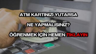 Photo of ATM Kartımı Yuttu, Ne Yapmalıyım?