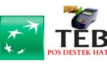 Photo of TEB Pos Destek Hattı Telefon Numarası