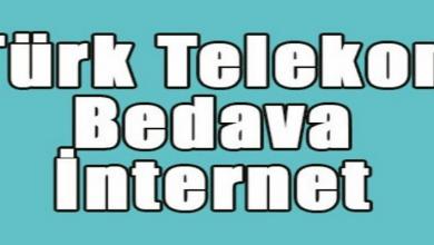 Photo of Türk Telekom Bedava İnternet Paketleri 2020 ( Güncel Liste )