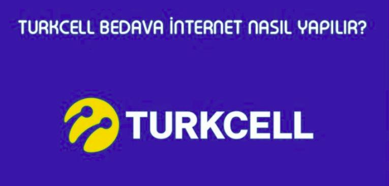 türkcell bedava internet