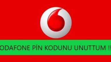 Photo of Vodafone pin kodunu unuttum. (Kesin Çözüm)
