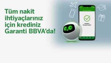 Photo of Garanti BBVA'dan 100.000 TL İhtiyaç Kredisi