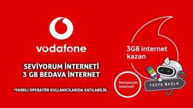 Photo of Vodafone Seviyorum İnterneti Testi İle 3 GB Bedava internet