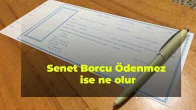 Photo of Senet Borcu Ödenmediği Zaman Ne Olur?