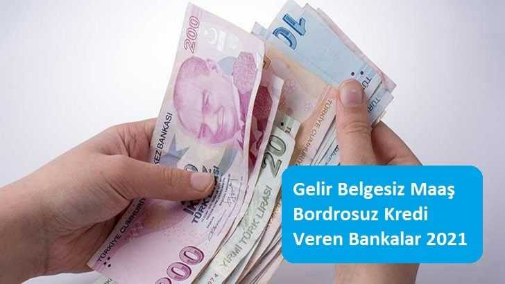 Garanti BBVA Gelir Belgesiz Kredi