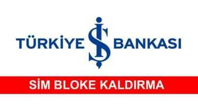 Photo of İş Bankası Sim Bloke Kaldırma İşlemi