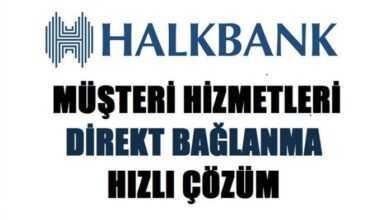 Photo of Halkbank Müşteri Hizmetleri Direk Bağlanma